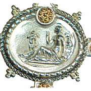 Italian Tagliamonte 14K Sterling Silver Cultured Pearl Necklace