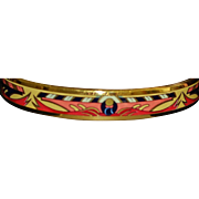 Hermes Paris Austrian Enamel Bangle Bracelet