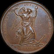 French Revolution Bronze Medal - 1792