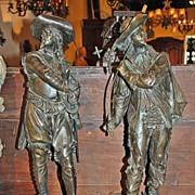Pair of 19th Century Figurines