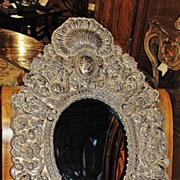 Pretty Embossed Mirror
