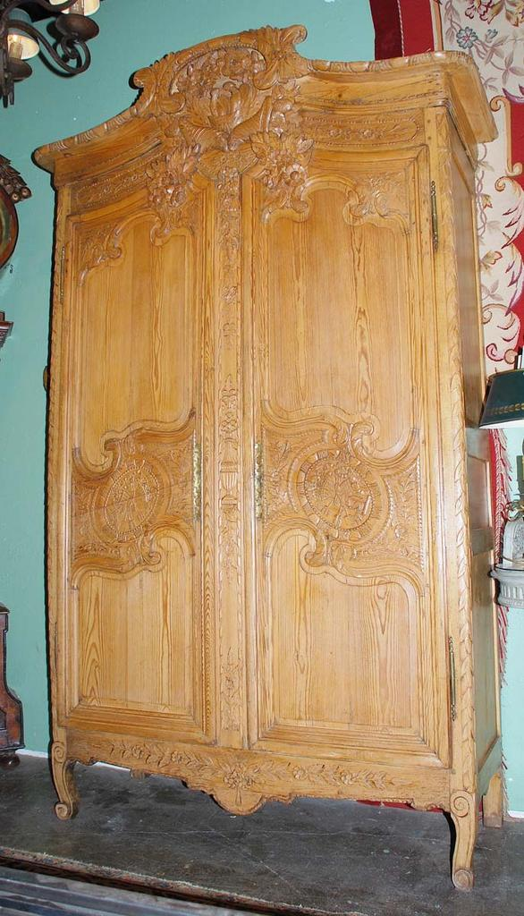 Lovely French 18th Century Armoire