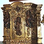 Italian Gilt Reliquary
