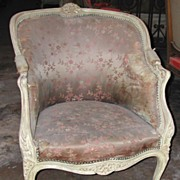 Classic Louis XV Style Beregre Chair,c1860
