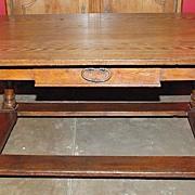 Swiss Oak Farmhouse Table