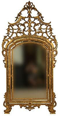 18th Century Italian Gilt Mirror