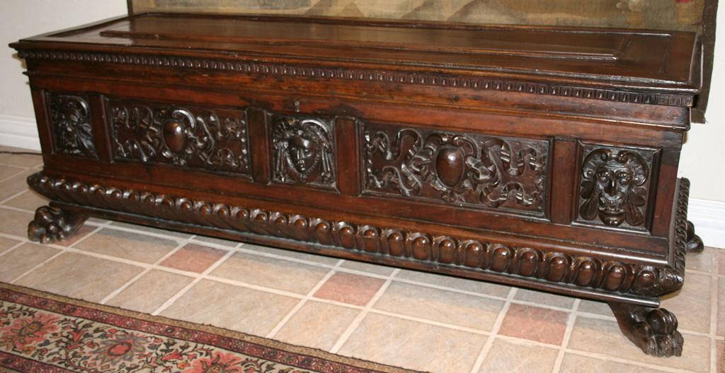 Italian Walnut Cassone