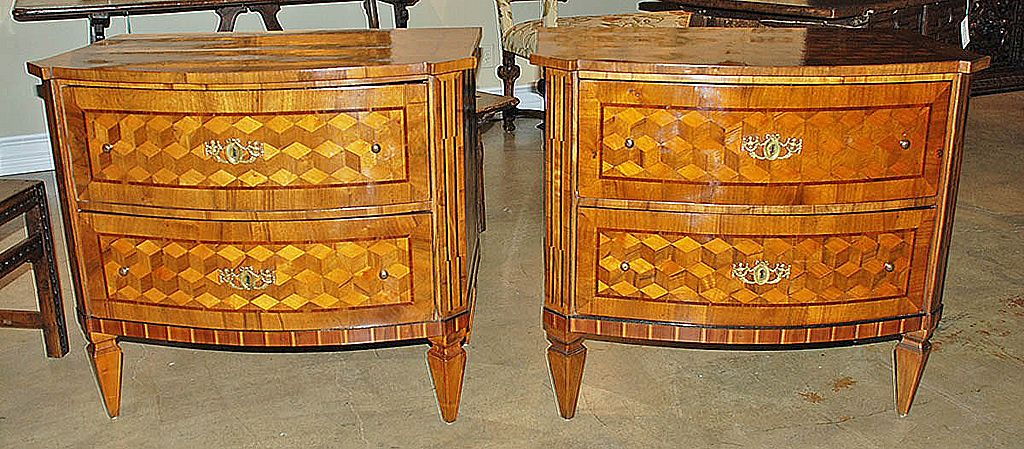 Gorgeous Pair of Spanish Commodes