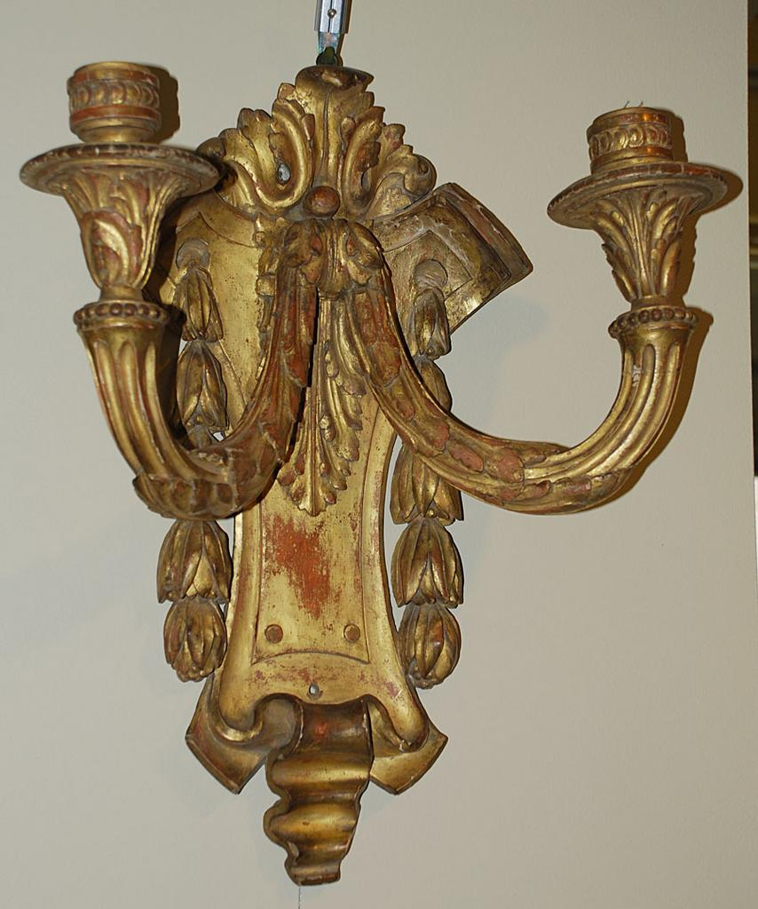 Superb Pair of French Sconces