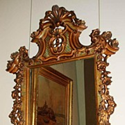 Nicely Carved Mirror
