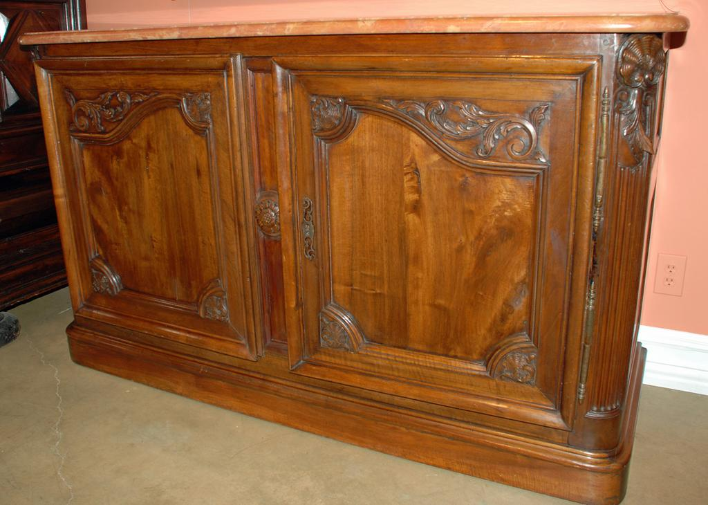 French Walnut Buffet de Chasse