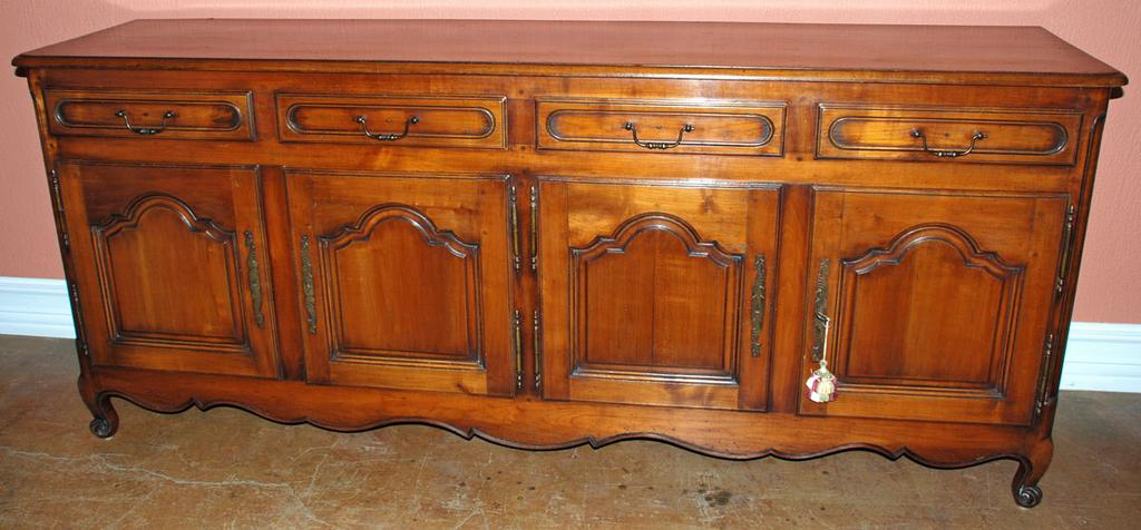 French cherry wood buffet sold on ruby lane