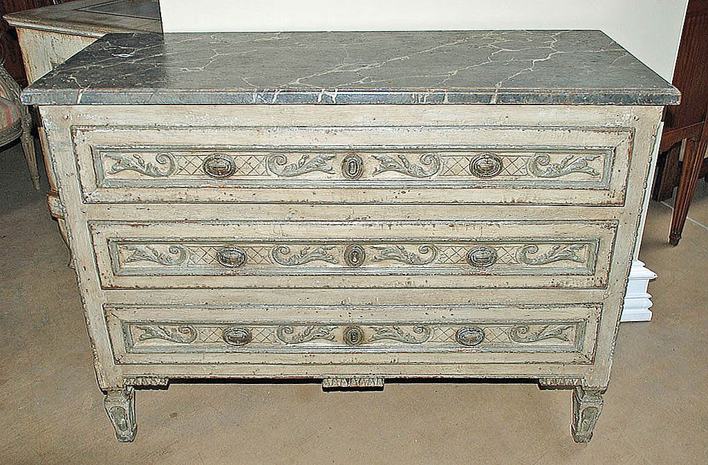 Wonderful French Painted Commode