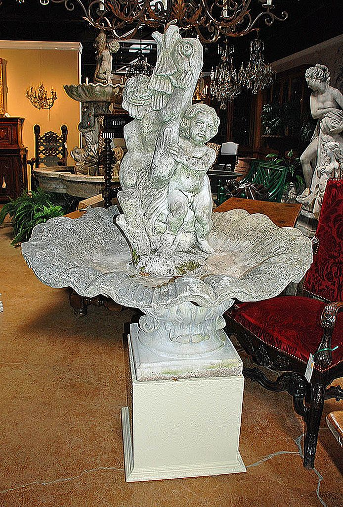 French 19th Century Garden Fountain
