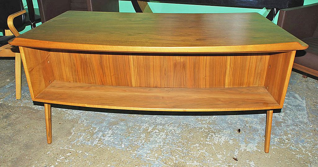 Sleek Danish Modern Desk