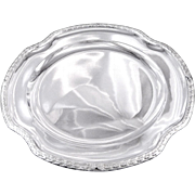 Boivin - Sumptuous French Sterling Silver Serving Dish Louis XVI Style.
