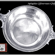 A Sumptuous French Sterling Silver Vegetable Dish Empire Style - Minerve 950