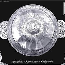 Ep. Louis XV - JB BUCHET - Rarissime Ecuelle Couverte Argent Massif - XVIII° -1743 Juridic. de Rennes