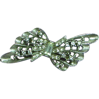 Rhinestones Silver Double Bead Enhancer Pearl Enhancer