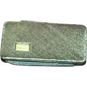 L.E. Stage Signed Mid Century 14K Gold Sterling Silver  Vintage Men's Jewelry Money Clip Pin Knife Nail File Mens Accessories