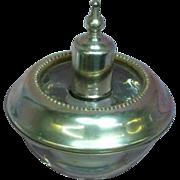 Frank M. Whiting Sterling Silver Glass Cigarette Lighter