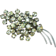 50% OFF SALE Rhinestones Dazzling Dynomite Clear A/B Colorful Brooch