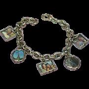 Charm Bracelet Silver-tone Fun Family Charms