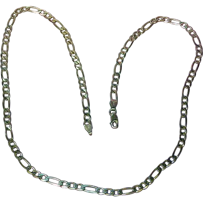 Sterling Silver Heavy Link .925 Chain Sensational Necklace.