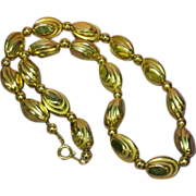 50% OFF SALE Gold Tone Beautiful Bead Necklace