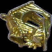 Sterling Silver Rain or Shine Mechanical Bracelet Charm or Necklace Pendant