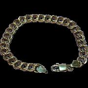 Sterling Silver .925 Marked Fine Italian Heavy Large Bracelet