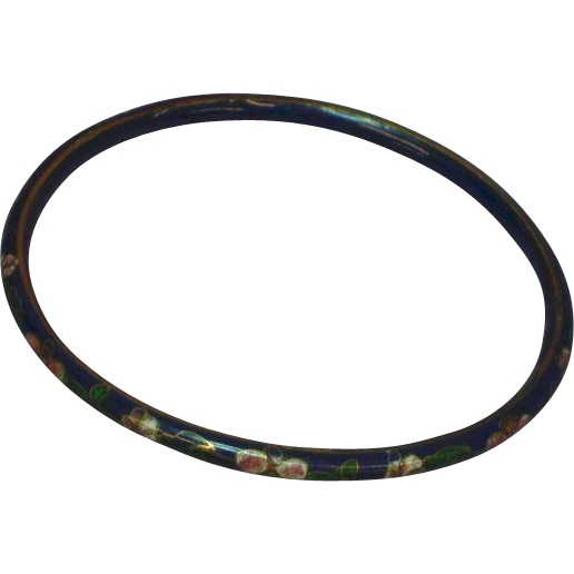 Chinese Cloisonne Wonderful Quality Bangle Bracelet Vivid Enameling