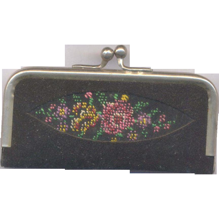 Vintage Germany Needlepoint Manicure Kit