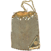 Vintage Little Mesh Bag Purse from Wayne University