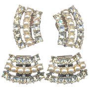 Vintage Sarah Coventry Clips and Earrings
