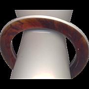 Layered Lucite Bangle Bracelet