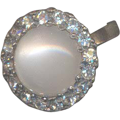 Pretty Marked Moonglow Ring