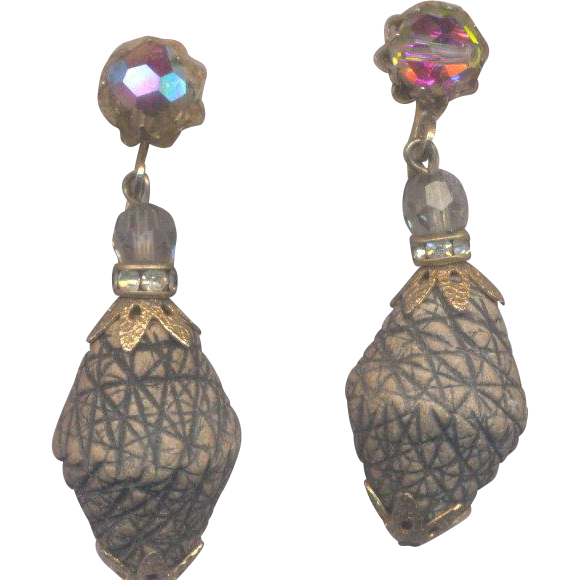 Vendome Dangly Adjustable Clip on Earrings