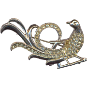 Deco Bird Brooch
