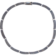 Vintage Mexican Sterling Marked Necklace