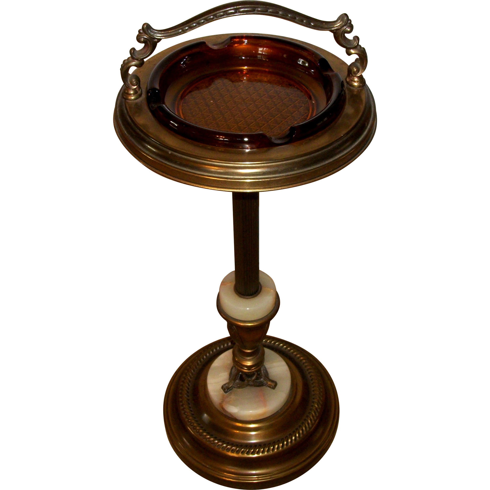 Vintage Ashtray Stand 46