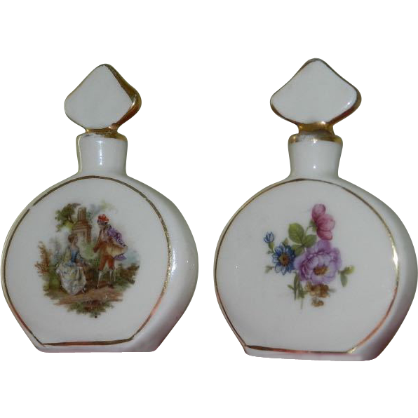 Vintage Mini Perfume Bottles 39