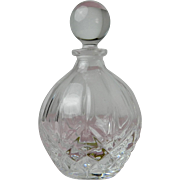 Vintage Perfume Bottle Royal Crystal Rock 24% Lead Crystal Italy