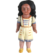 """3 3/4"""" Hertwig Indian Girl with Molded Clothes"""