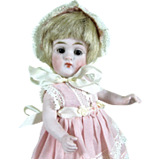 "5 1/2"" Kestner '172 3/0' ~ Rare All Bisque Doll ~ Pensive & Pretty!"