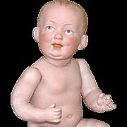 """7 3/4"""" All Bisque Baby 816-10 Bahr &Proschild ~ Rare Mold #"""