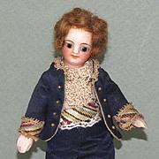 "5 1/4"" French Mignonette Gentleman ~ All Original All Bisque Doll"