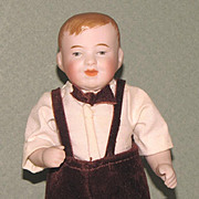 """5"""" Kestner '792 - 3' Character Boy ~ Charming All Bisque Doll"""