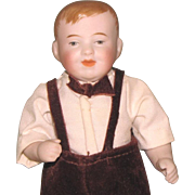 "5"" Kestner '792 - 3' Character Boy ~ Charming All Bisque Doll"
