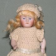 "5"" Kestner '+130 / 3' Pretty & All Original All Bisque Doll"